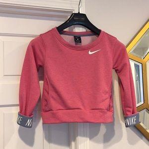 Nike Dri Fit crop sweatshirt